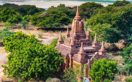 bagan: Ancient temple in Bagan, Myanmar