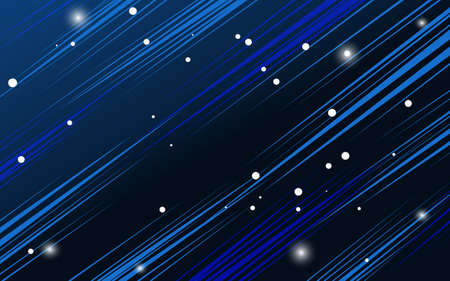 Abstract space concept background, Vector illustration.