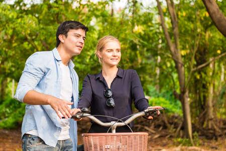 Boyfriends love cycling
