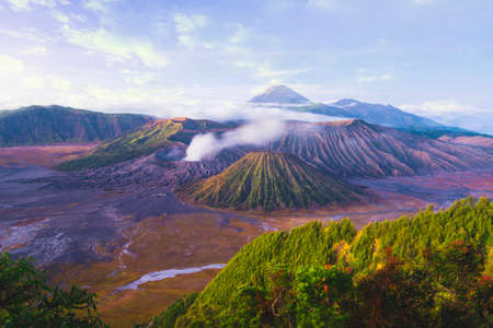 Mount Bromo is an active volcano and one of the most visited tourist attractions in East Java, Indonesia.