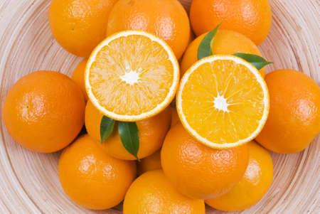 Bowl of mandarins Stock Photo - 9613988