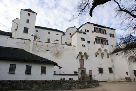 The historic fortress of Salzburg City. photo