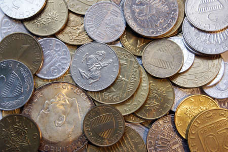 Old Austrian Schilling coins (before Euro) Stock Photo - 5001519