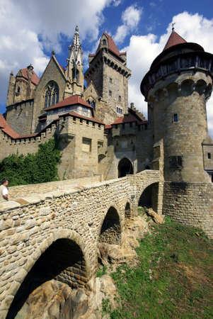 burg: Castle  Burg Kreuzenstein                     Editorial