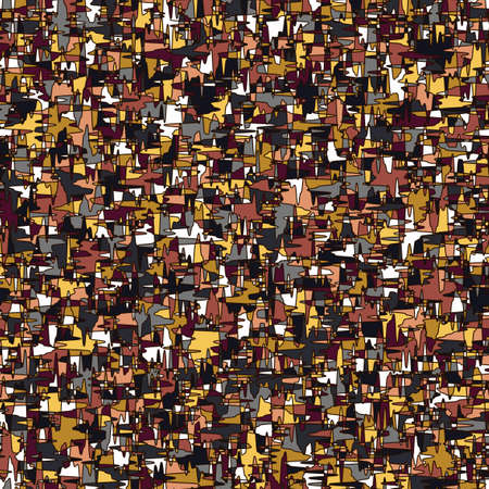 modern camouflage seamless repeating pattern with jagged lines and interlocking burgundy and brown pieces