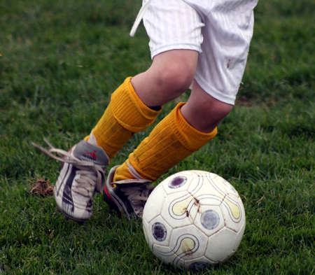 booting: Soccer dribble