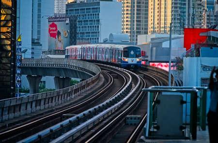 Bangkok train system. Bts.