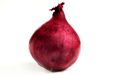 A nice red onion. Stock Photo