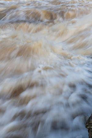 Cascading, swirling water. Stock fotó