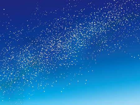 A vector Milkyway illustration.