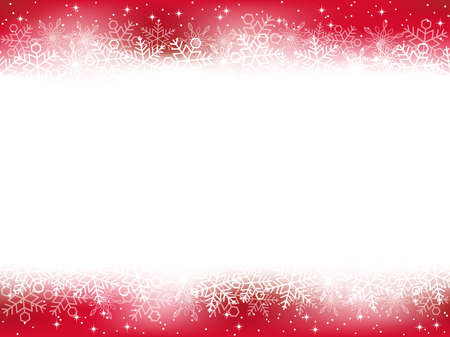 A seamless snow background, vector illustration.