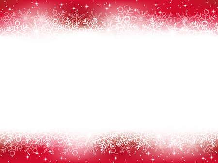 Un fond de neige sans soudure, illustration vectorielle.