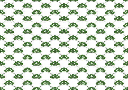 Japanese traditional pattern, seamless vector illustration. Horizontally and vertically repeatable.