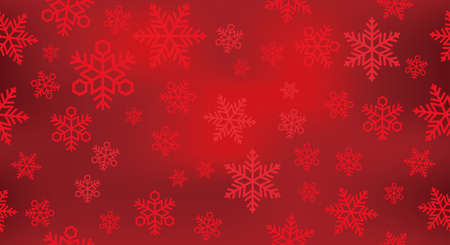 Seamless vector snow background illustration. Horizontally and vertically repeatable.
