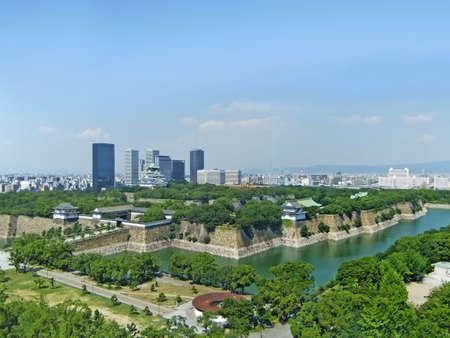 osaka: A view surrounding Osaka Stock Photo