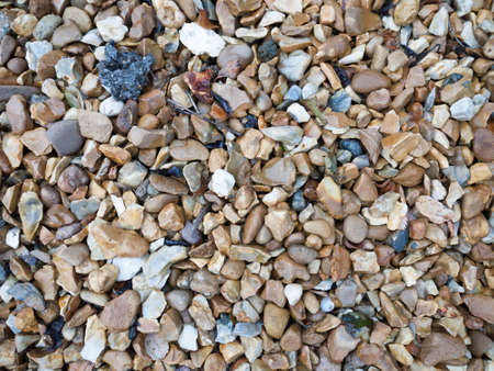 Background Texture Of Garden Pebbles And Rocks; Essex; UK Stock Photo    82598736