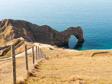 durdle door nature coastline coast sea special landscape dorset south tourists tourism; Dorset; England; UK