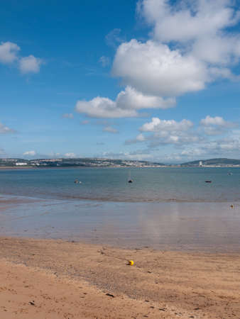 Mumbles Swansea Wales coast scene boats harbour pier holiday sun - Wales UK