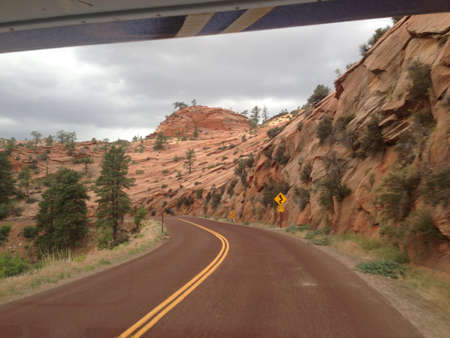Road to Zion National Park
