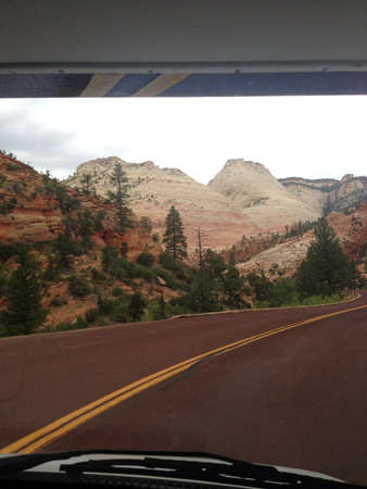 zion: Road to Zion National Park