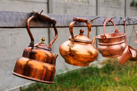 gipsy: Unique kettles hand-made by talented gipsy craftmans
