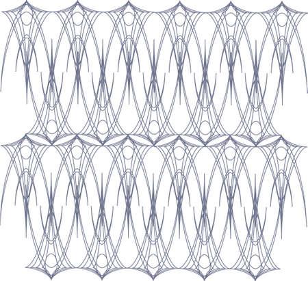 edwardian: Pinstripe pattern vector Illustration