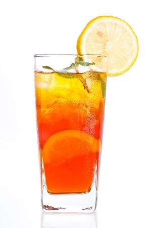 Ein frisches k�hles Eis Zitronen-Tee zu jeder Tageszeit genossen werden
