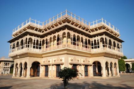 Mubarak Mahal in City Palace , Jaipur, India