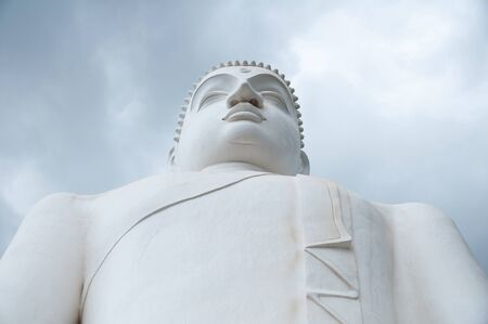 samadhi: Close up of Samadhi Buddha at Athugala, Sri Lanka Stock Photo