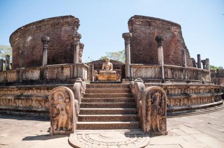 Vatadage in antiken Stadt Polonnaruwa, Sri Lanka
