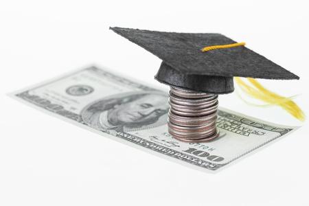 Spar jeden einzelnen Dollar und Cent f�r Hochschulbildung