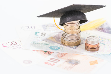 Savings for higher education Stock Photo