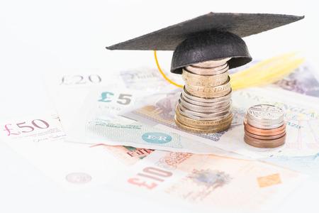 Savings for higher education Stock Photo