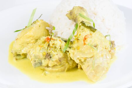 Indonesian Chicken Cuisine which is known as Opor Ayam or Ayam Tuturuga