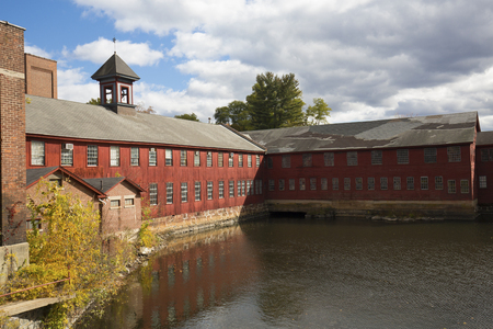 collins: Old Collins axe factory on the Farmington River in the Collinsville section of Canton, Connecticut.