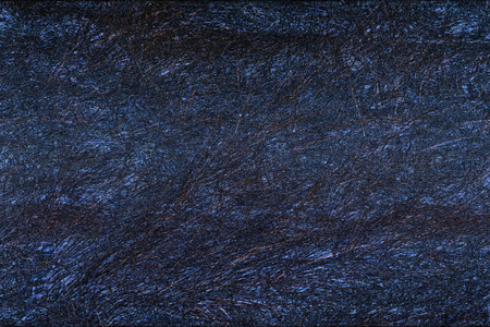 manipulated: Abstract dark blue fibers of beach grass, Ammophila, in densely textured, digitally manipulated micrograph at 100x. Stock Photo