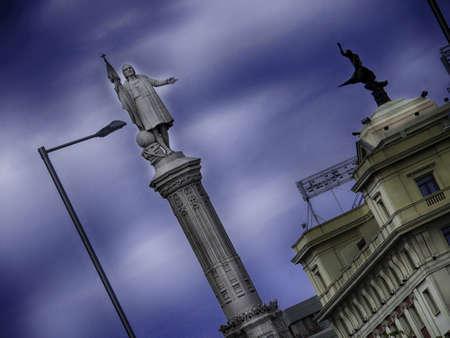 castellana: Plaza de Colon Madrid