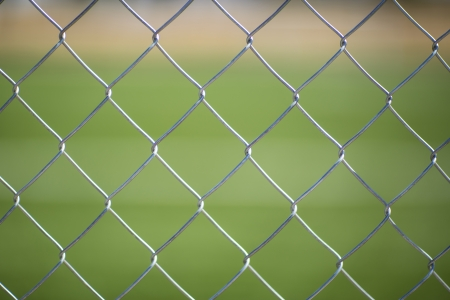 chain fence: Seamless Chain Fence Stock Photo