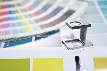 Press color management Stock Photo