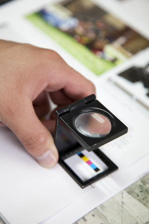 Press color management Stock fotó