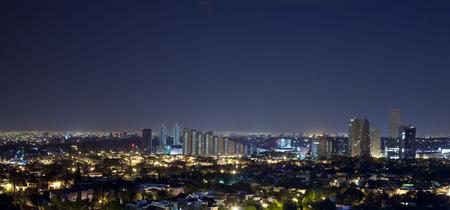 Panorama of the skyline guadalajra
