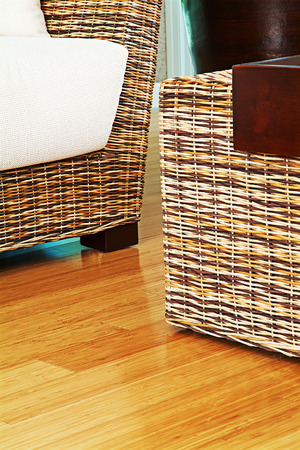 lowboard: Modern Living Room Interior  detail with wood floor