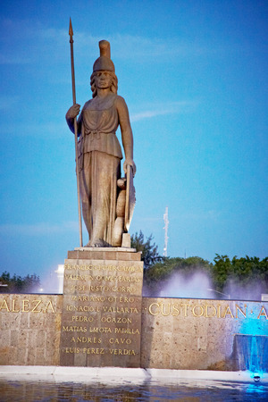 Historical monument in Guadalajara, Jalisco, Mexico Stock Photo