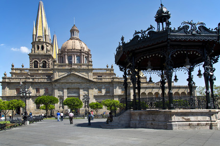 spiritual architecture: Monuments of Guadalajara, Jalisco, Mexico