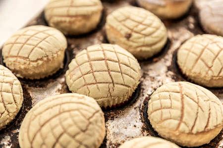 Basket with delicious handmade bread