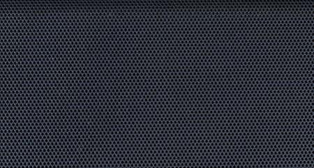 texture detail of big black speaker mesh