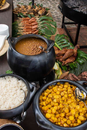 Typical food of Medellin city