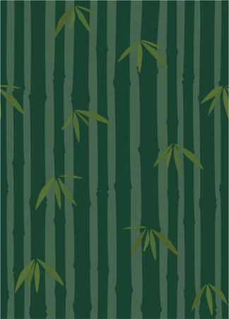 Seamless elegant bamboo pattern