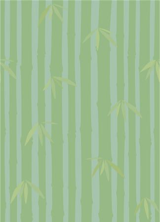 Seamless bamboo pattern