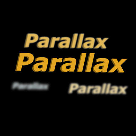 scrolling: Parallax Scrolling Illustration